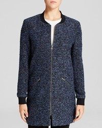 Sanctuary Metallic Boucl City Coat Bloomingdales