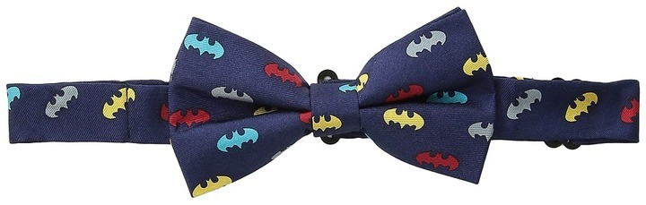 Cufflinks Inc. Classic Batman Multicolor Silk Bow Tie Ties