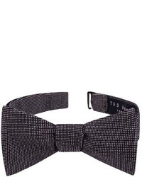 London solid cotton bow tie medium 3730464