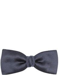 Lanvin Silk Blend Twill Bow Tie