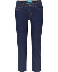 M.i.h Jeans Tomboy Cropped High Rise Slim Boyfriend Jeans