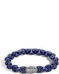 Batu classic chain bracelet with lapis medium 641611
