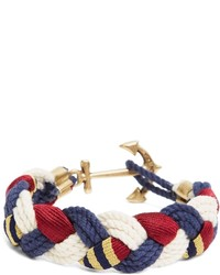 Brooks Brothers Kiel James Patrick Bb1 Braided Bracelet