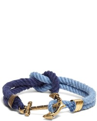 Brooks Brothers Kiel James Patrick Navy And Blue Triton Bracelet