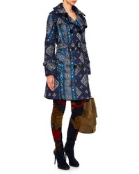 Burberry Prorsum Paisley Print Quilted Trench Coat | Where to buy ... : burberry quilted trench - Adamdwight.com