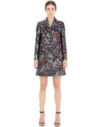 Valentino Spring Garden Silk Brocade Coat