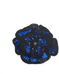 Forest of Chintz Midnight Bloom Brooch
