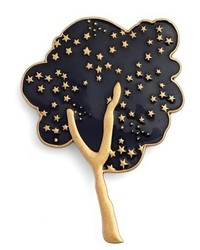 Marc Jacobs Tree Guilloch Enamel Brooch
