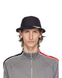 Thom Browne Navy 4 Bar Classic Bucket Hat