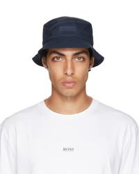 BOSS Navy Logo Bucket Hat