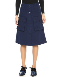 Marc by Marc Jacobs Greenwich Army Skirt
