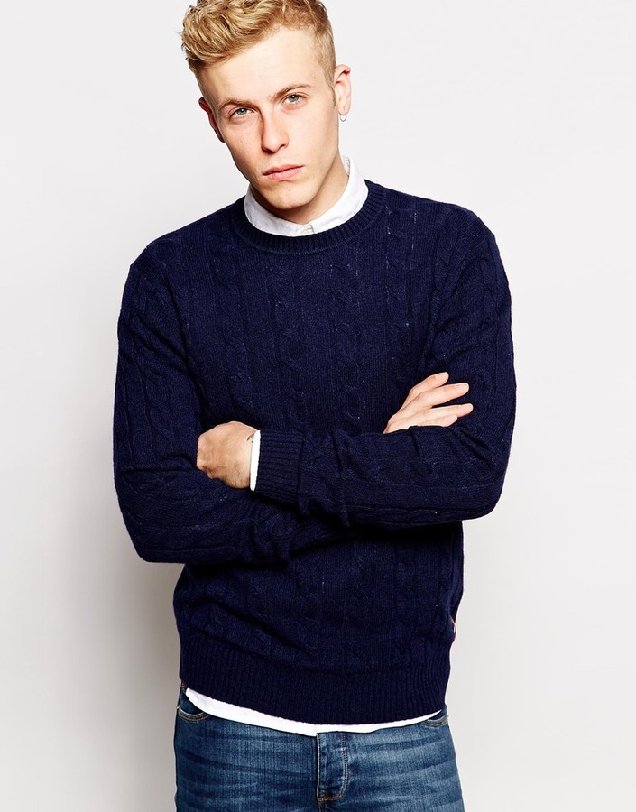 Ben Sherman Sweater With Cable Knit | Where to buy & how to wear
