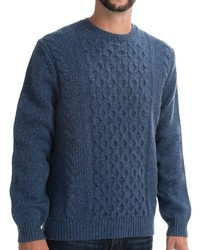 Viyella Cable Knit Sweater Lambswool