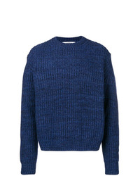 MSGM Chunky Mesh Knit Sweater