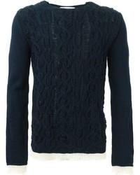 Comme des Garcons Comme Des Garons Shirt Cable Knit Sweater