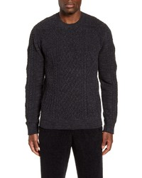 Barefoot Dreams Cozychic Aran Crewneck Sweater