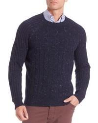 Brunello Cucinelli Donegal Virgin Wool Cashmere Silk Blend Sweater