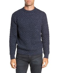 Frye Ethan Fisherman Cable Sweater