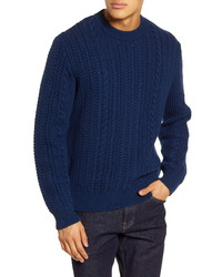 French Connection Heritage Regular Fit Cable Knit Sweater