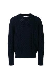 AMI Alexandre Mattiussi Irish Crewneck Oversize Sweater