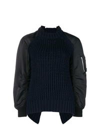 Sacai Loose Fitted Sweater