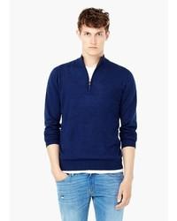 Mango Man Cotton Cashmere Blend Sweater