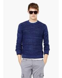 Mango Man Mixed Knit Sweater