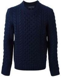 Rag bone cable knit sweater medium 103463