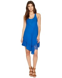 Asymmetrical hem slip dress medium 5211917