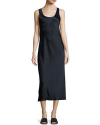 Vince Bias Seam Sateen Slip Dress