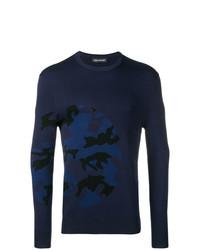Neil Barrett Camouflage Pattern Sweater