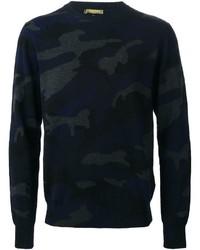 Valentino Rockstud Camouflage Sweater