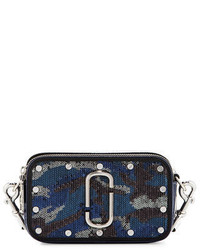 Marc Jacobs Snapshot Sequined Camouflage Camera Bag