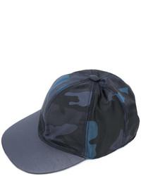Valentino Garavani Camouflage Baseball Cap