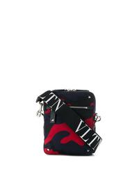 Valentino Camouflage Print Messenger Bag