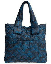 Marc Jacobs Camo Nylon Tote Blue