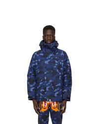 BAPE Navy Camo Snowboard Jacket