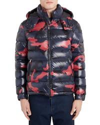 Valentino Camo Down Puffer Jacket