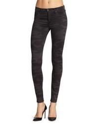 Hudson Nico Mid Rise Super Skinny Camo Jeans