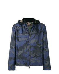 Valentino Camouflage Print Jacket
