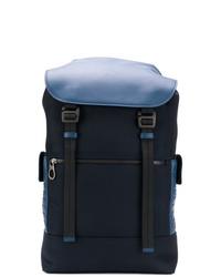 Bottega Veneta Hi Tech Canvas Backpack