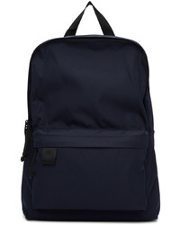 N. Hoolywood Navy Nylon Canvas Backpack