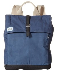 Toms Trekker Waxed Canvas Backpack