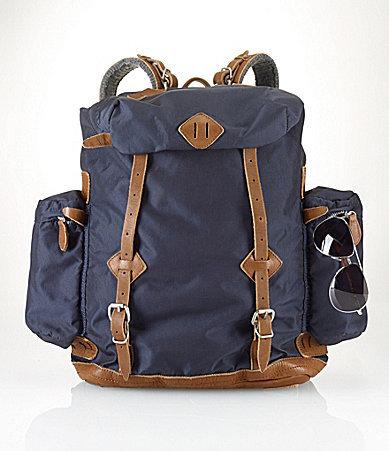 ... Canvas Backpacks Polo Ralph Lauren Yosemite Nylon Utility Backpack ... cf97e2da9e55b