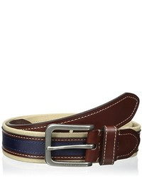 Tommy Hilfiger 1 38 In Canvas And Ribbon Belt