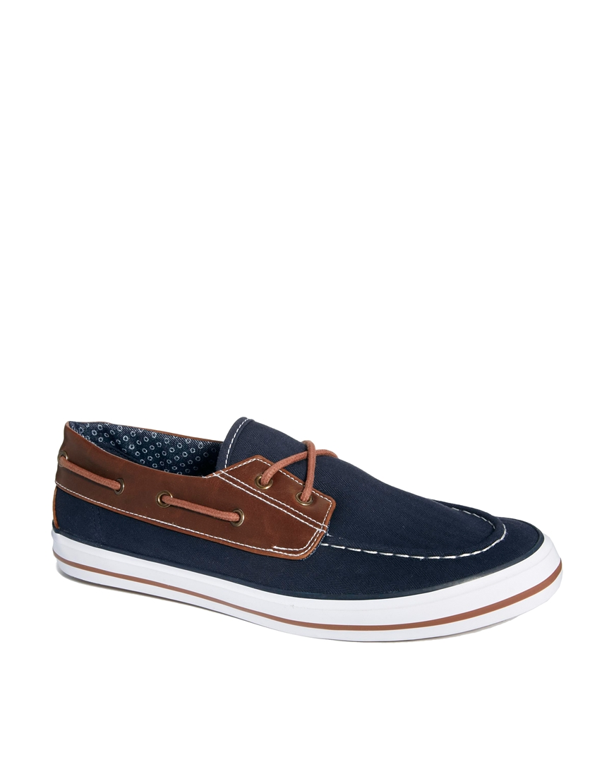 asos boat shoes in canvas where to buy how to wear