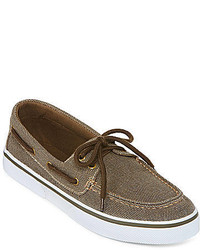 4bc37684e0095 ... St Johns Bay St Johns Bay Inlet Canvas Boat Shoes ...