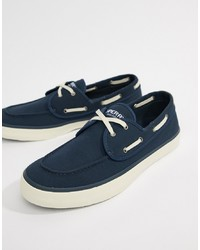 ... Sperry Topsider Sneaker Boat Shoes In All Navy 640b871b919