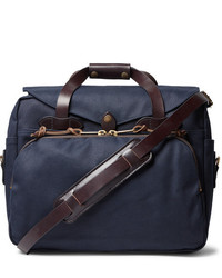 Filson Leather Trimmed Twill Briefcase