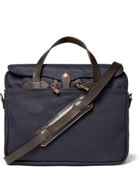 Filson Original Leather Trimmed Twill Briefcase